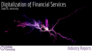 Digitalization of Financial Services Industry Report